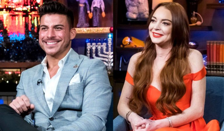 Lindsay Lohan Has a Different Story about Hooking Up with Jax Taylor